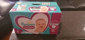Pampers Cruisers Size 3 for Sale in Phoenix, AZ
