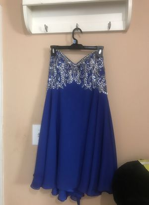 royal blue dama dress medium sz pay $150 for it for Sale in Germantown, MD
