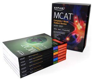 Kaplan MCAT 2020-2021 complete bundle set for Sale in Arlington, TX