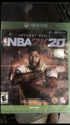 NBA2K20 for xbox one brand new sealed $$$40 for Sale in San Diego, CA
