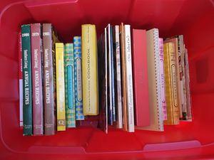 Lot of cookbooks, some vintage 60's for Sale in Midlothian, VA