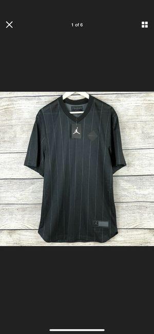 NIKE AIR JORDAN Retro 9 Sportswear Jersey Men's Shirt Black AH9909-010 SIZE XL for Sale in Orlando, FL