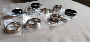 x42 Men's Rings, comes with all 43 rings and ring box in photos. for Sale in Portland, OR