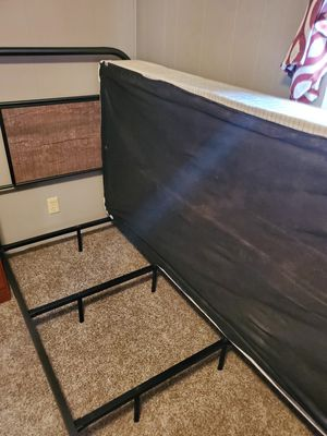 Ashley furniture twin bed frame and boxspring for Sale in Seneca, MO