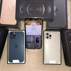 Apple iPhone 12 pro max & iPhone 11 Pro Max unlocked brand new I can meet and deliver for Sale in Oakland, CA