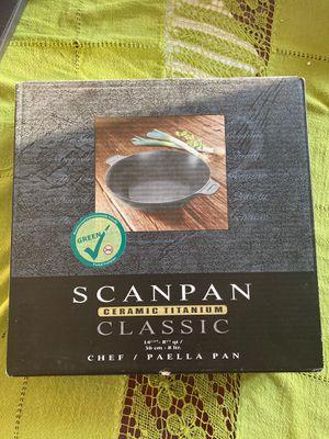 Scanpan ceramic titanium for Sale in Roselle Park, NJ