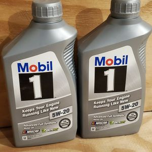 Mobil 1 5W-20 Advanced Full Synthetic Motor Oil Dexos Aproved GEN 2 for Sale in Gurnee, IL