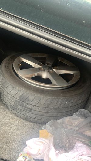 Dodge Dart 4 Rims with Tires for Sale in Hialeah, FL
