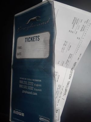 Greyhound Bus Ticket. Tacoma to Spokane for Sale in Tacoma, WA