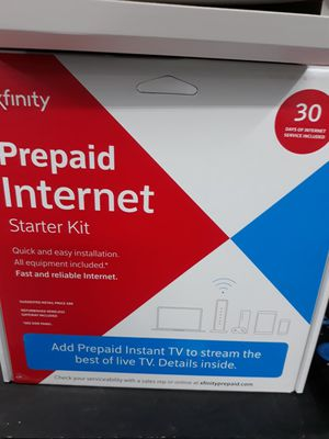 Xfinity Prepaid Internet Including Modem and first month for Sale in Houston, TX
