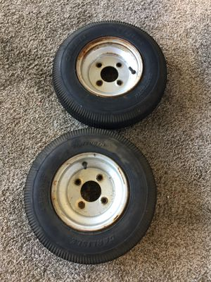 Trailer tires 4.80-8NHS for Sale in Temecula, CA