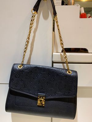 Louis Vuitton Saint Germain Black Monogram Empreinte Leather Cross Body Bag for Sale in Irving, TX