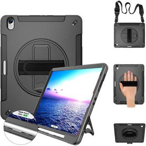 iPad Pro 12.9 Case 2018 Heavy Duty Case with Stand+Hand Strap+Shoulder Strap+Pencil Holder Support Pencil Wireless Charging for iPad Pro 12.9 Inch 20 for Sale in San Dimas, CA