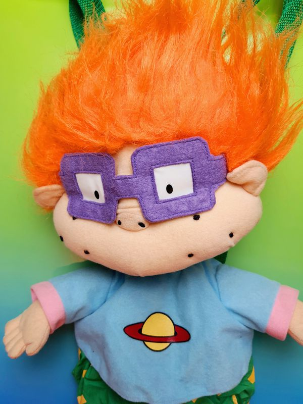 Nickelodeon Rugrats Chuckie 18 Inch Backpack Plush