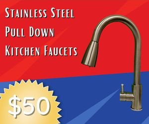 Pulldown Kitchen Faucet for Sale in Bakersfield, CA