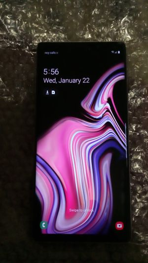 Phone Unlocked Battery Is Fully Charged Samsung Galaxy Note9 No Low Ballers You Will Be Blocked Pick Up Only Cash On Hand Message Me Ready To Be Used for Sale in Culver City, CA