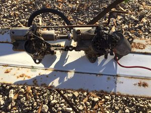 Twin carburetors from a Mercury 50 hp for Sale in Grosse Ile Township, MI