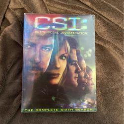 CSI: Sixth Season DVD for Sale in Sacramento,  CA