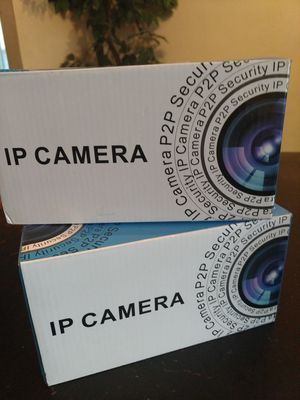 2 Ip cameras $50 dollars to protect your home for Sale in Cave Spring, VA