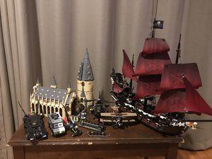 Lego sets lot Pirates of the Caribbean, Harry Potter, Batman for Sale in Pico Rivera, CA