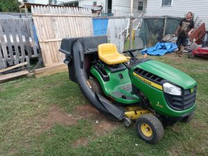John Deere tractor d110 with double-bagger plow and it has 945 hours on it for Sale in York, PA