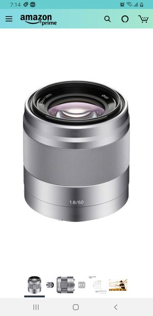 Sony 50mm f/1.8 Mid-Range Lens for Sony E Mount Nex Cameras for Sale in SUNNY ISL BCH, FL
