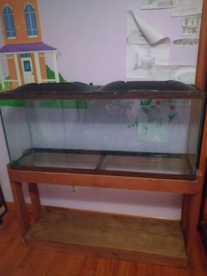 55 gallon tank with stand for Sale in Kingsport, TN