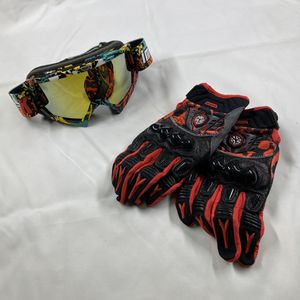 Dirt Bike Goggle and Gloves, for motocross motorcycle, size XXL for Sale in Brooklyn, NY