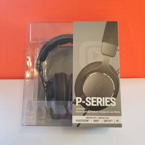 Brand New Sealed P-Series Stereo Wired Gaming Headset Xbox Series X / S PS5 PC ,[Available Today] for Sale in Lemon Grove, CA