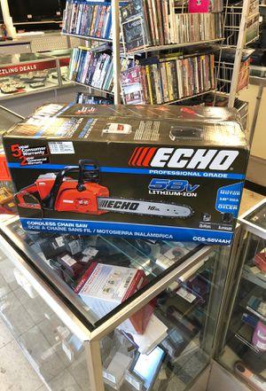 Echo electric chain saw for Sale in Orlando, FL