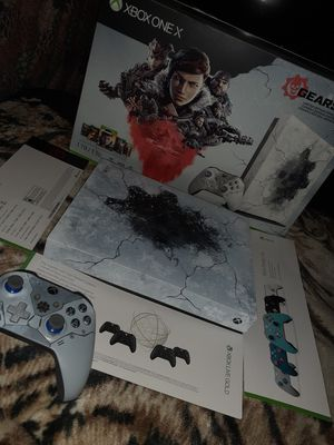 Xbox one X Gears 5 Limited Edition for Sale in Garland, TX