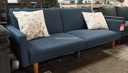 NEW, Adjustable Sofa Futon, Navy Blue, SKU#TCF8506 for Sale in Santa Ana,  CA