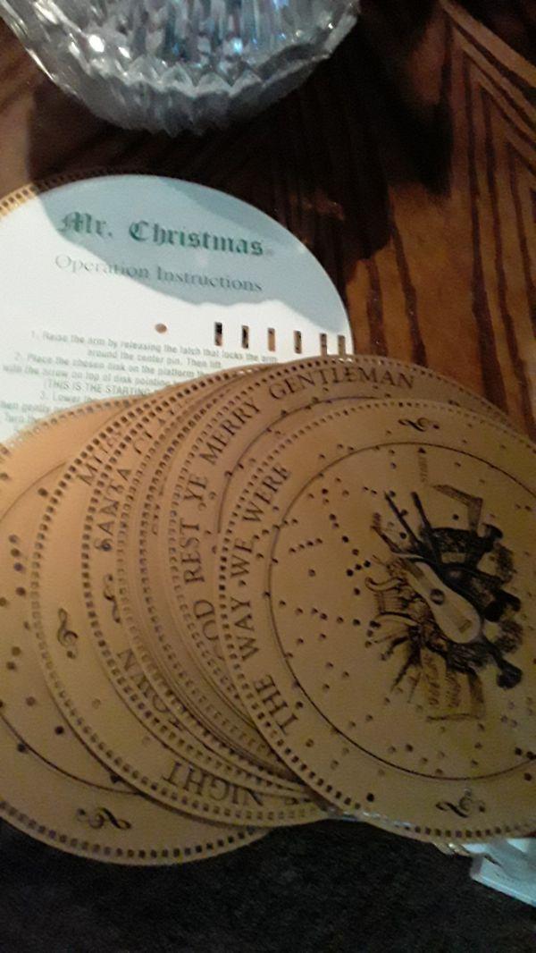 Mr Christmas music box works great