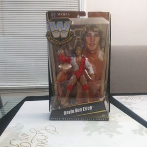 Kevin Von Erich WWE Action Figure Series 6 for Sale in Los Angeles, CA
