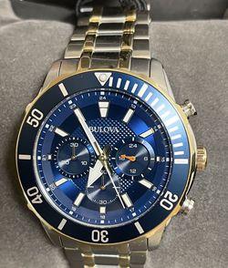 Brand New Mens Bulova Chronograph Watch for Sale in Everett,  WA
