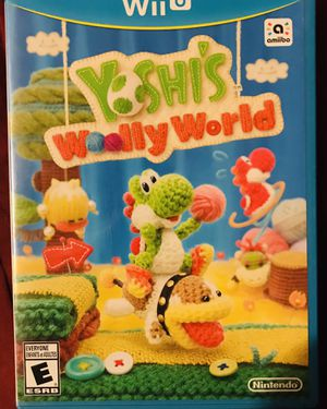 Yoshis wooly world Wii U for Sale in San Diego, CA