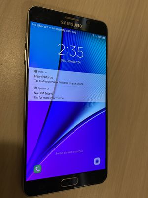 galaxy note 5 unlock for Sale in Phoenix, AZ