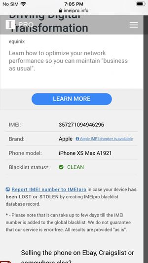 iPhone X MAX like new for Sale in St. Louis, MO