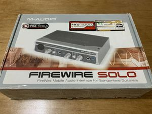 M-Audoi Firewire Solo Audio Interface with the original box! for Sale in Los Angeles, CA