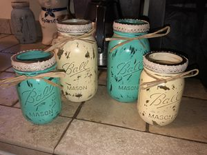 Decorative mason jars for Sale in Apopka, FL