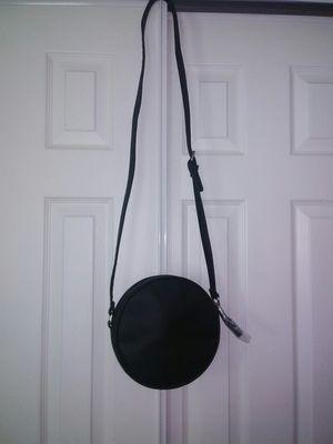Black Crossbody Purse Bag Round W/Tassel for Sale in Schaumburg, IL