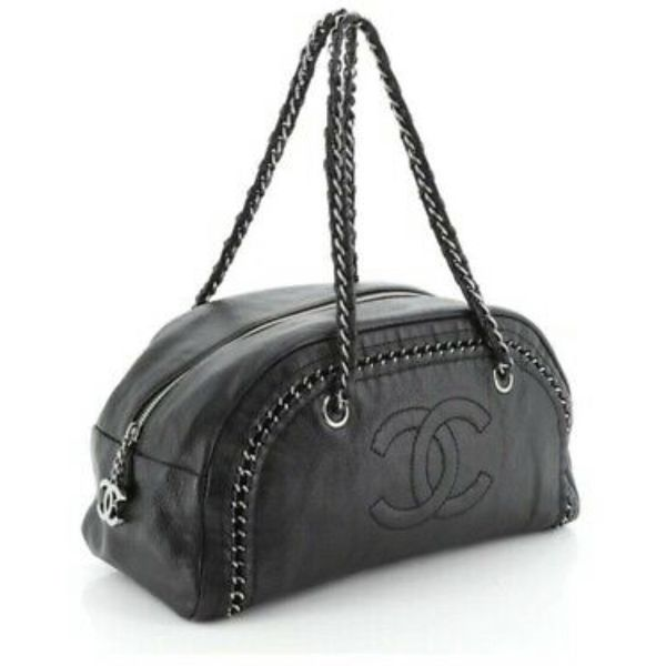 Authentic Chanel bowling Bag