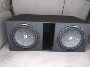 12in Kicker Comp R subwoofers for Sale in College Park, GA