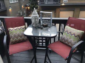 3 piece patio bistro set! $100 for Sale in Hillsboro, OR