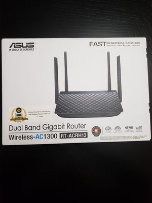 ASUS Wi-Fi Wireless Router AC-1300 NEW Open Box for Sale in Chantilly, VA