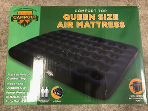 New in Box, Queen size air mattress with air pump for Sale in Milpitas, CA