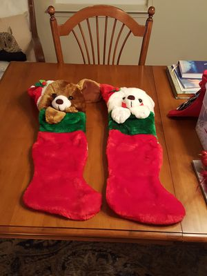 Dog Stockings. $10 each for Sale in Fort Belvoir, VA