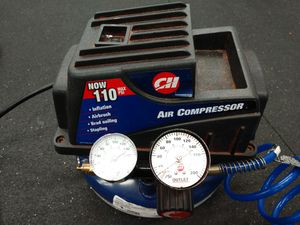 Campbell / Hausfeld 1 Gal Compact Pancake Compressor Kit for Sale in Tacoma, WA