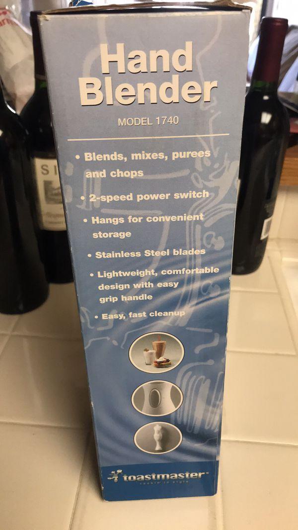 NEW Toastmaster Hand Blender