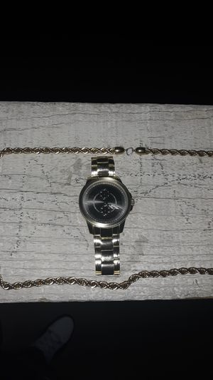 Watch and chain for Sale in Phoenix, AZ